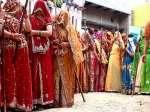 Celebrating Lathmar Holi in Barsana