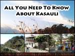 All You Need To Know About Kasauli