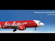Air Asia Big Sale! Pick All Your Domestic Flight Tickets Only at Rs.899 Only at MMT, Yatra