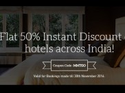 GoCashless Travelling Now! Upto Rs.25000 Cashback On Flights & 50% Off On Hotels