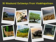 Incredible Weekend Getaways From Visakhapatnam