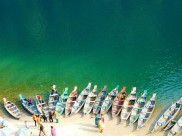 Enjoy The Transparent Waters Of Umngot River In The Picturesque Destination Of Dawki
