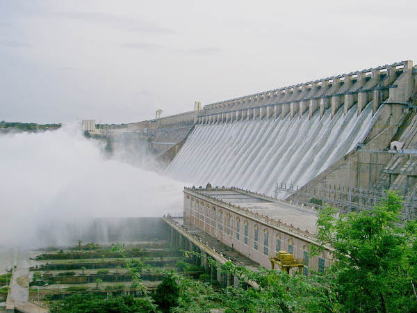 Five Largest Dams in India