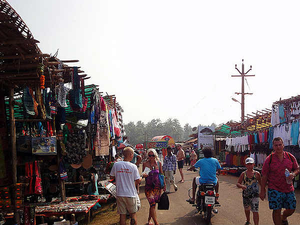The Flea Markets of Goa