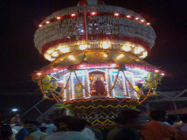 Chariot of Mangaladevi