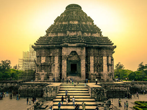 Timings of the Konark Sun Temple