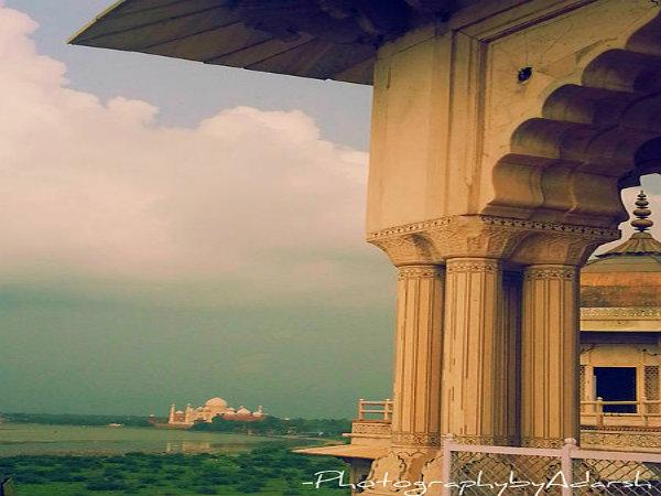 From Agra Fort