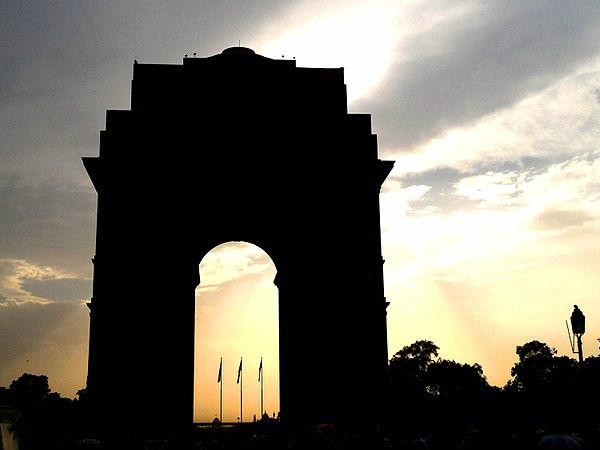 India Gate - The Structure