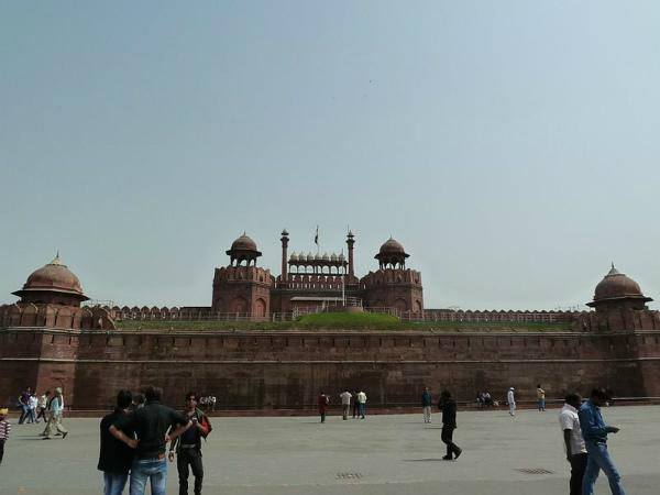 Red Fort - Built in Red Stone