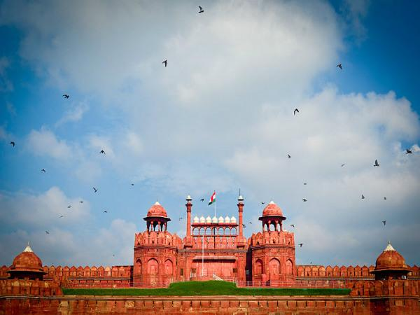 Red Fort - Inside The Complex