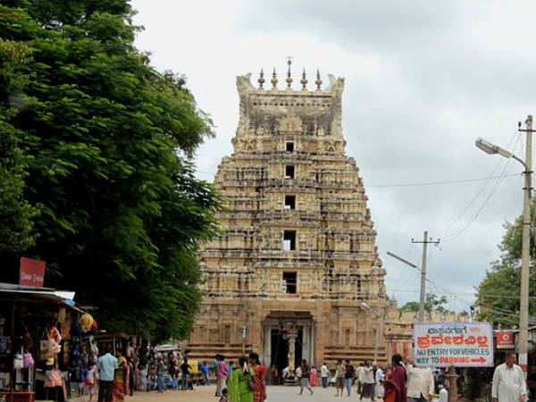 The historical town of Srirangapatna