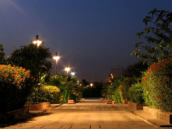 Garden of Five Senses in Delhi