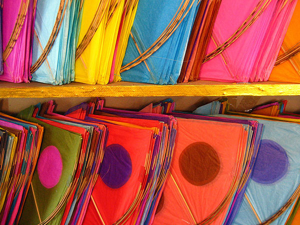 The Gujarat Kite Festival and Patangs for Sale at Dilli Diwarja