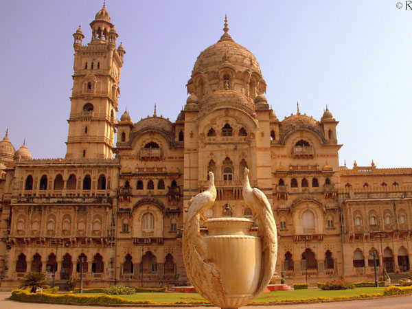 The Laxmi Vilas Palace in Vadodara, Gujarat