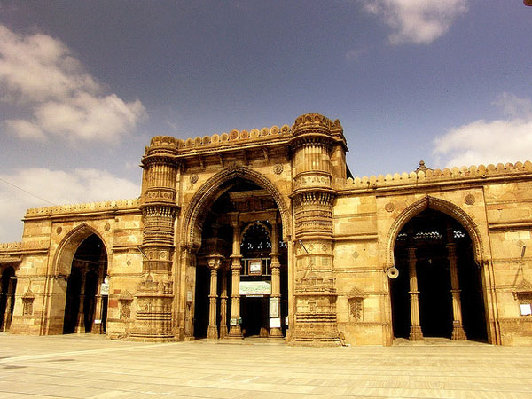 The Jumma Masjid in Ahmedabad, Gujarat