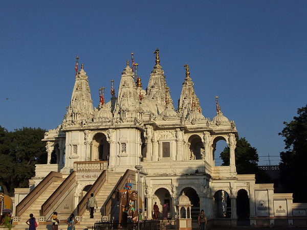 The Goandal Swaminarayan Temple in Gandhinagar, Gujarat