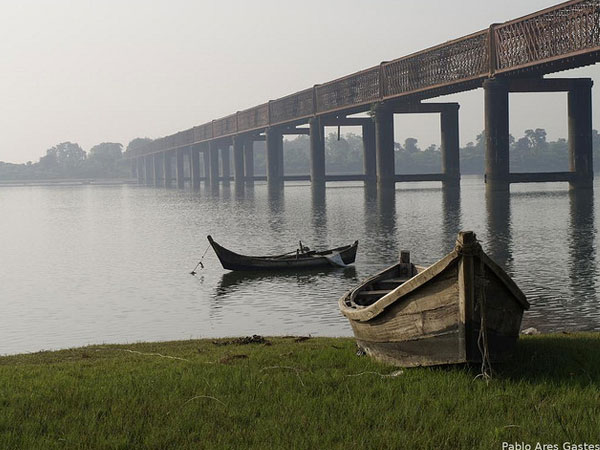 The Narmada River at Baruch, Gujarat