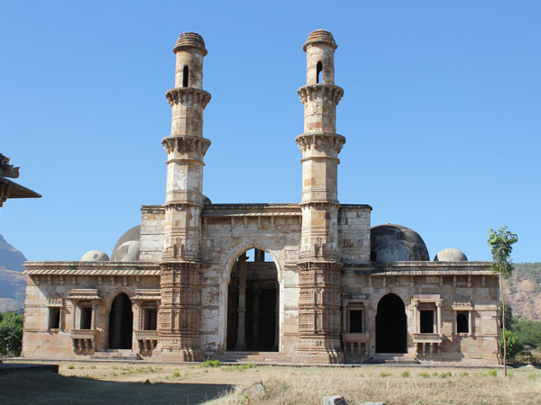 The Kevada Masjid in Champaner, Gujarat