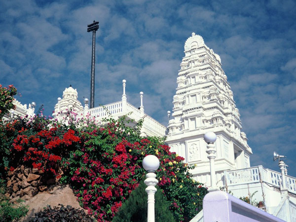 The Temple in White