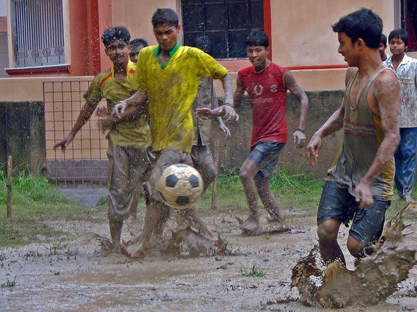 Football Fever In The Monsoons