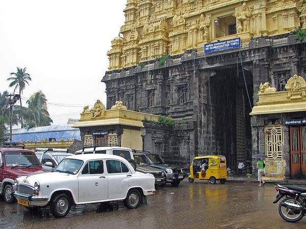 The Unique Charm of South Indian Temples In The Rains