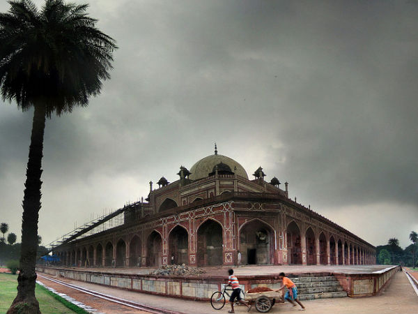 Humayun's Tomb In The Rains, Delhi