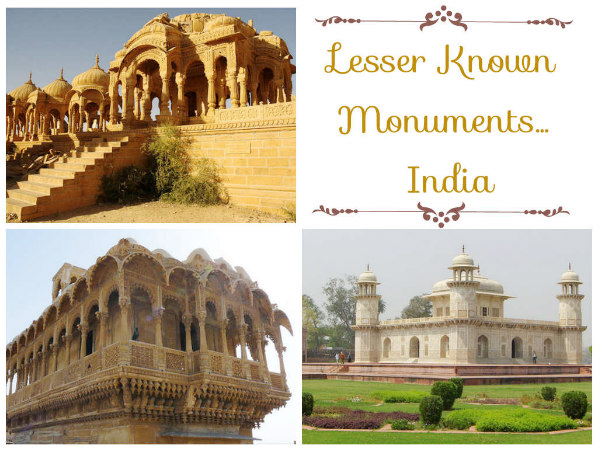 Travel to 8 Lesser Known Monuments in India