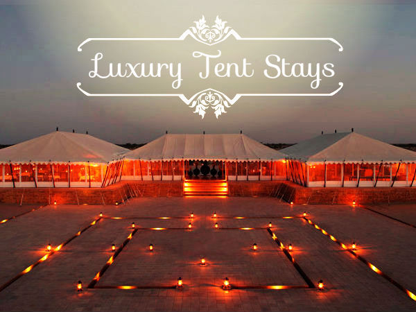 5 stunning luxury tent accommodations in rajasthan