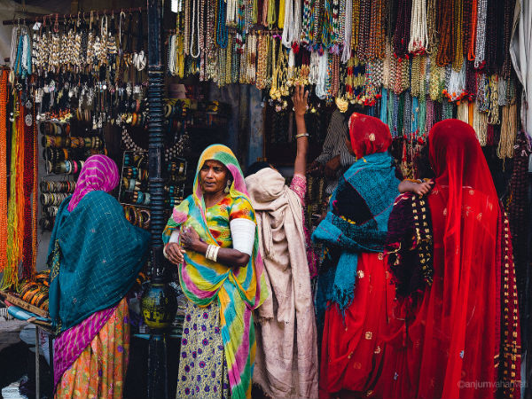 Shopping at the Bazaars
