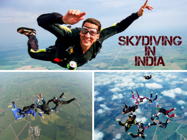 5 Skydiving Destinations of India