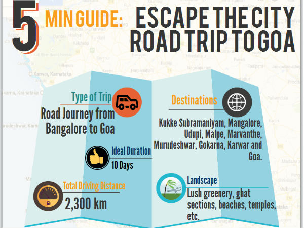 Make A Road Trip Drenched in Beauty - Bangalore to Goa