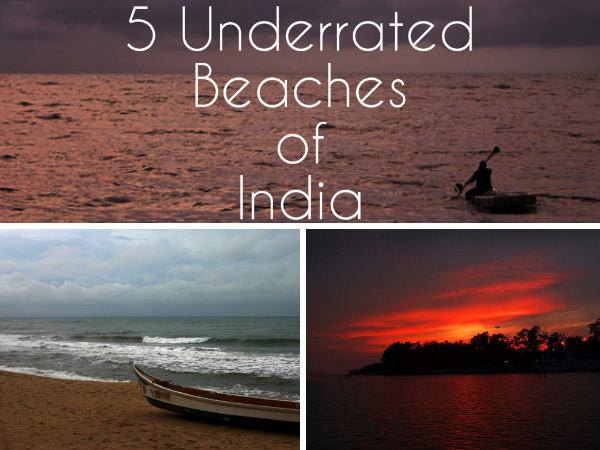 Travel to the 5 Underrated Beaches of India