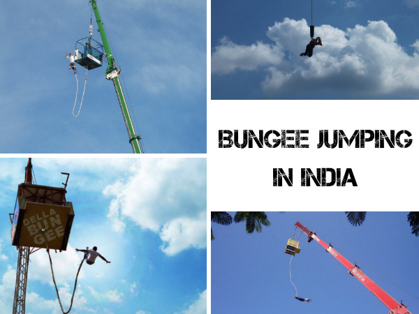 Top 5 Bungee Jumping Destinations in India