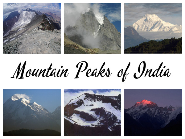 Travel to the 7 Unique Mountain Peaks in India