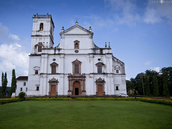 Se Cathedral At Old Goa
