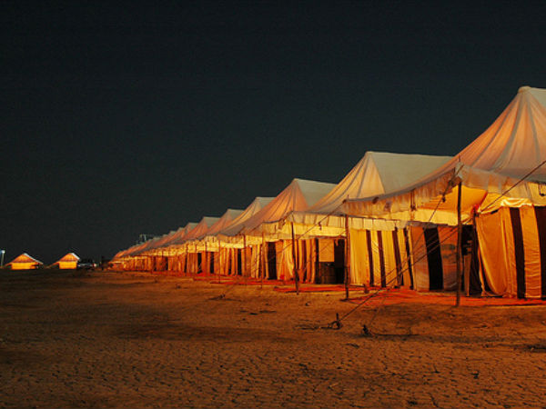 Accommodation at the Rann Utsav