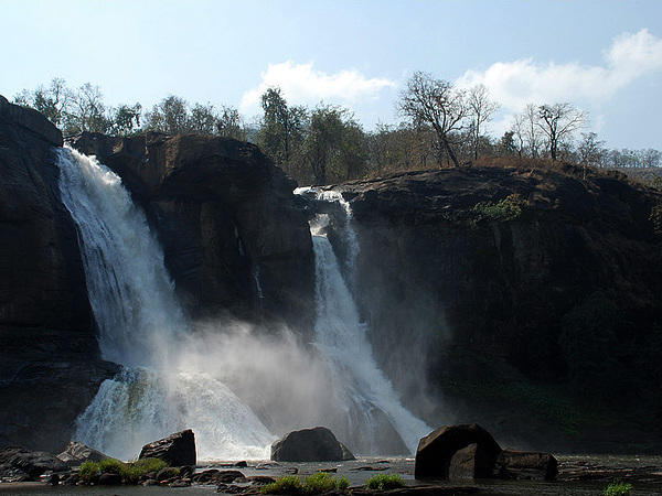 Travel to the Town of Waterfalls, Athirappally