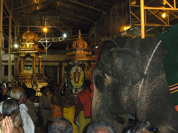 Travel to the Scenic Town of Mantralayam