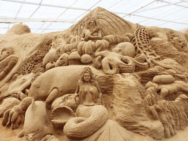Vistas of Mysore Sand Museum