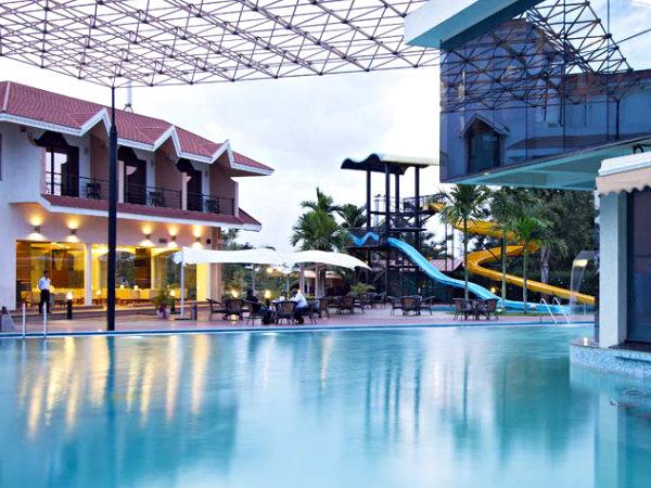5 best luxury resorts in bangalore nativeplanet for Swimming pool near sahakar nagar bangalore