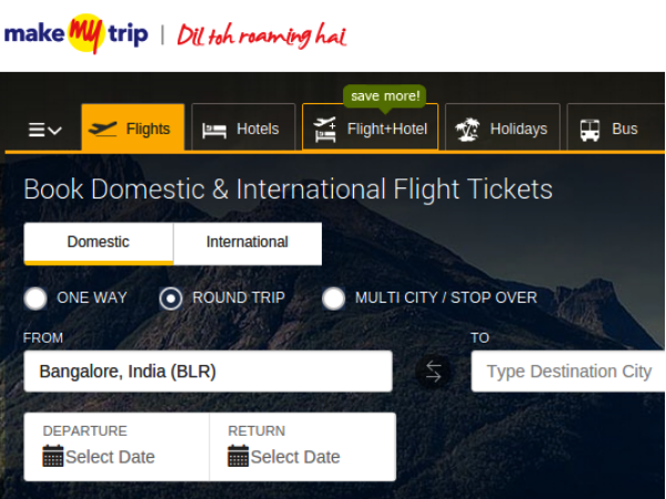 Discount coupon for makemytrip