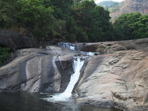 Enjoy the beauty of nature at the Adyanpara Falls