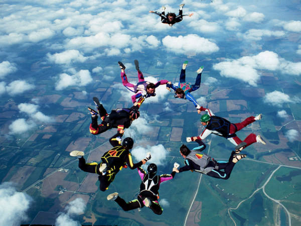 Adventure Tourism Skydiving In India Nativeplanet