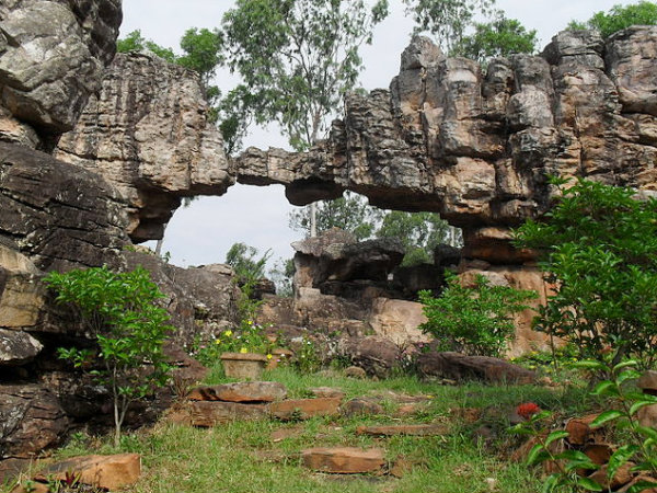 India Tourism - Rock Structures