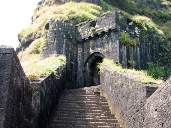 Entrance of Lohagad Fort