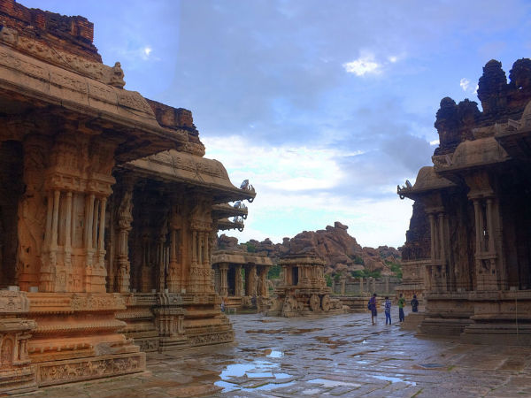 Ancient Ganesha Temples of Hampi in Karnataka