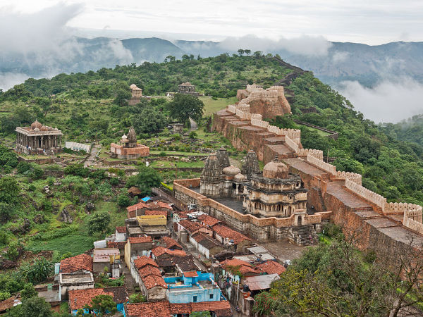 The Wall of Kumbhalgarh Fort