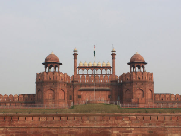 Red Fort Was Actually White