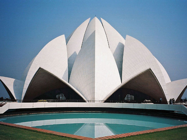 Lotus Temple The 7th Bahai Temple Of The World Nativeplanet