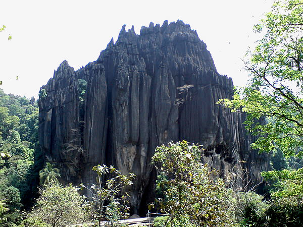 A Stroll Around Yana Rocks in North Karnataka